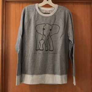 Jcrew Garments for Good Elephant 🐘 Sweatshirt